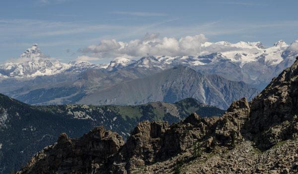 Panorami dal Col de La Croix –  Parco del Mont Avic (VdA)